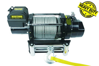 IP67 heavy duty Electric Winch NVD12000(12000lbs) 12/24V