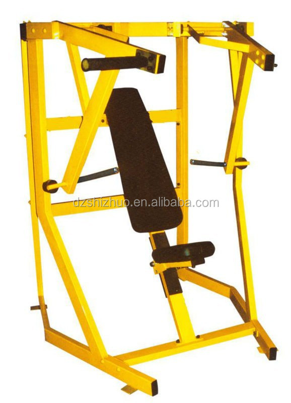 Plate loaded sports equipment Decline Bench HZ26/gym equipment pictures/stretching exercise machines