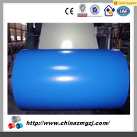 hot sales good corrosion protection colored galvanized steel coil for wall roof etc.