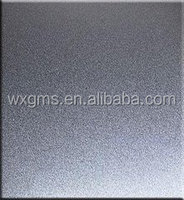 SB Sand Blasting Stainless Steel Sheet / Plate with Various Color Surface Treatment