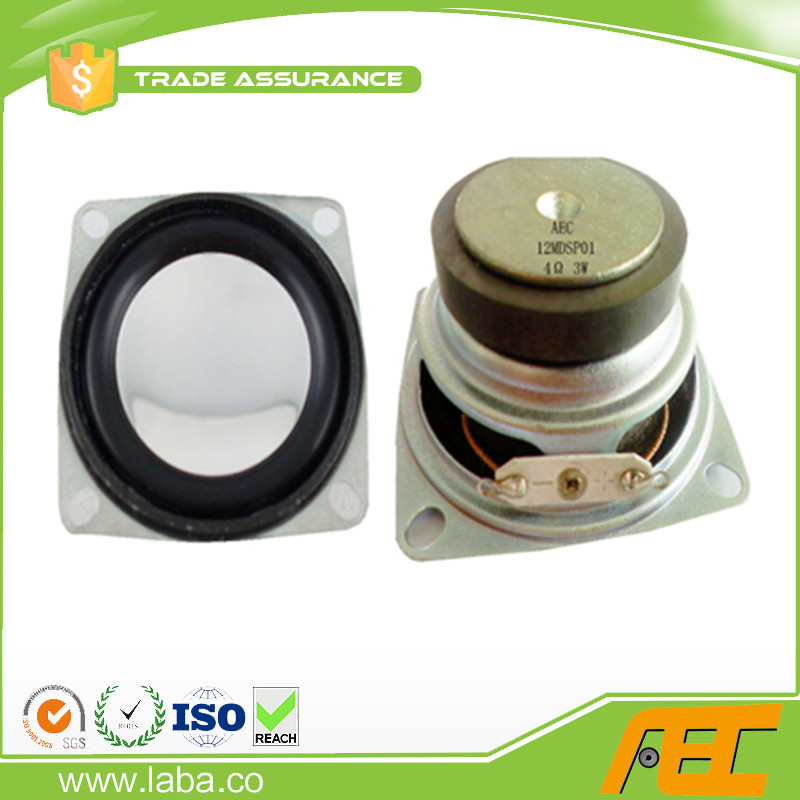 China Supplier 2 Inch 4ohm 3 Watts Loud Speaker