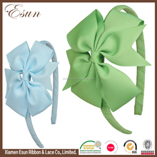 Wholesale girls infant sweet stretch hair bows top baby headbands