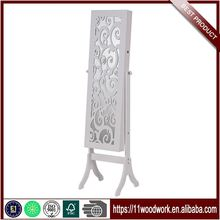 OEM Factory Directly Cheap Floor Mirror Jewelry Cabinet