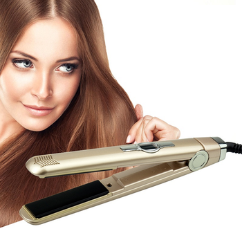 Professional Creative Automatic LCD Brush Hair Straightener Electric Comb Straightening