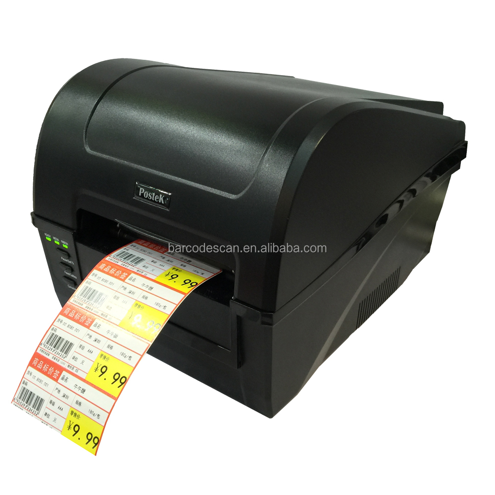 Heat Transfer Postek C168 300dpi Label Thermal Transfer Printer