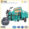 High-end three wheels tricycle with 1500 mm cargo van