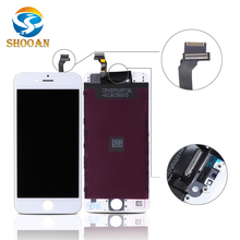 wholesale foxconn lcd for iphone 6 lcd display touch screen digitizer with frame