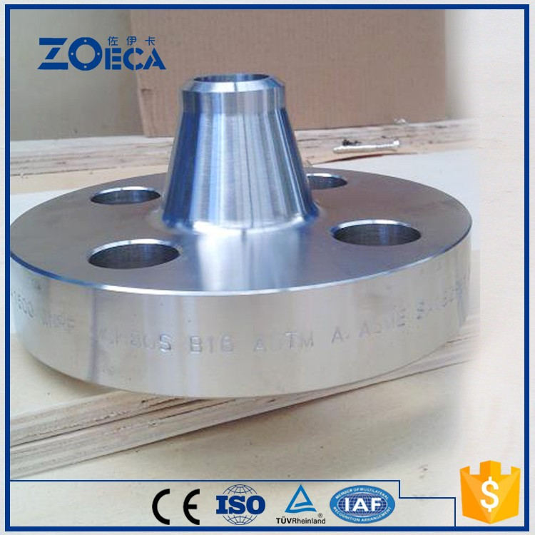 EN1092-1 Stainless steel pipe fitting flange