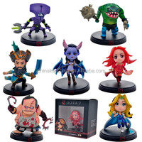 Hot Sale best quality Dota 2 pvc delicate figure 7pcs/set