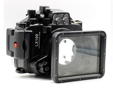 SY-5 Meikon Latest 40M/130ft Waterproof case underwater housing  RX100 M4 IV Casing for Sony Camera