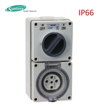 Impermeable ip66 industrial toma <span class=keywords><strong>de</strong></span> interruptor combinado interruptor <span class=keywords><strong>de</strong></span> toma <span class=keywords><strong>de</strong></span>