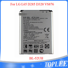 Original For Lg 2100mah 3.8v Li-ion Polymer Battery For Lg Bl-52uh Battery L41C D280N D320 D325 D329 H440N L Fino L65 MS323 Opti