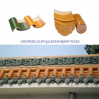 Asian style glazed tiles classical building traditional Chinese roof