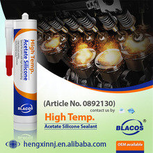 UL Cerified Acetate Silicone Based Heat Resistance Fire Rated Sealant