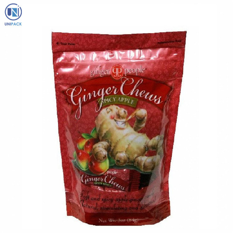 Alibaba hot selling 1kg large clear plastic candy floss bags