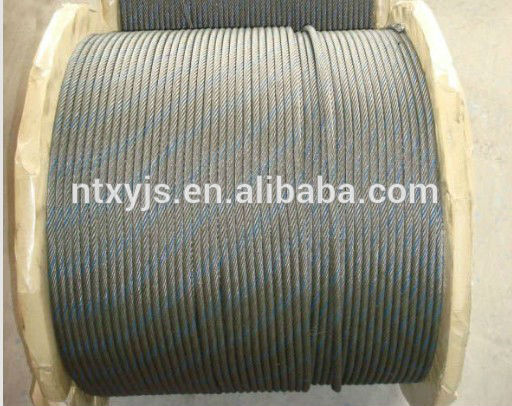 high tensile strength galvanized anti-twisting steel wire rope
