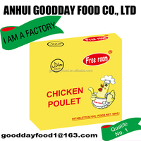 your best choice for cooking with GOODDAY chicken poulet bouillon seasoning cube