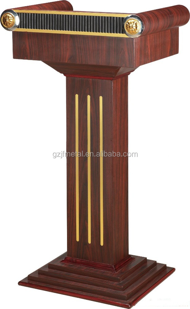 Metal Modern lectern Podium And Portable Lectern Adjustable Lectern