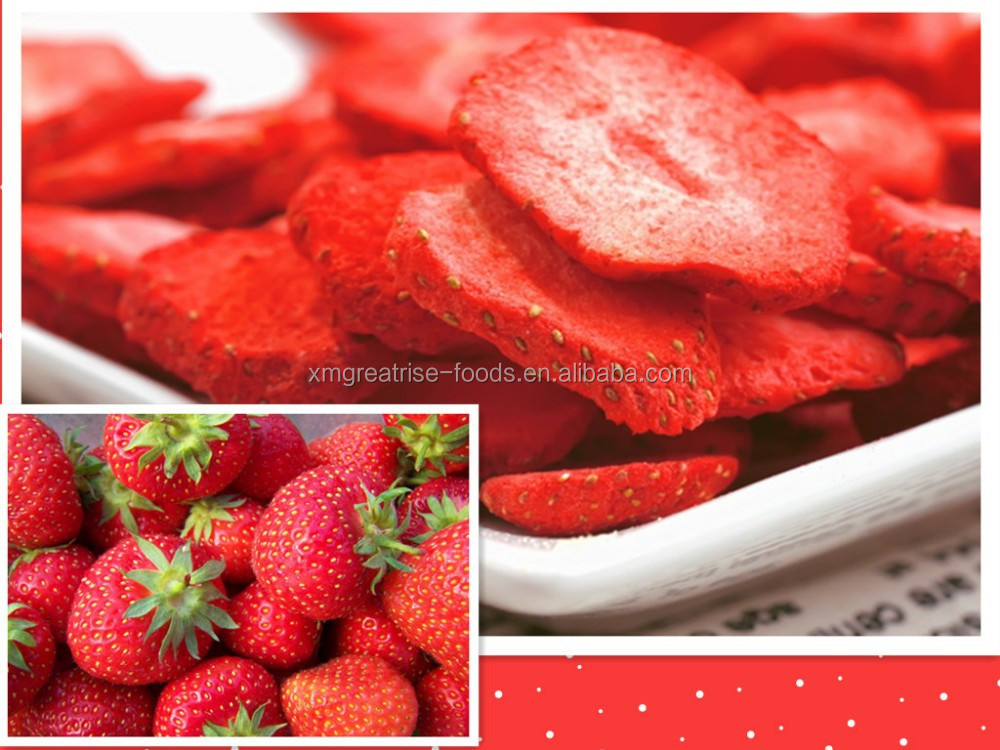 Healthy Natural Freeze Dried Strawberry Fruit Slice And Powder