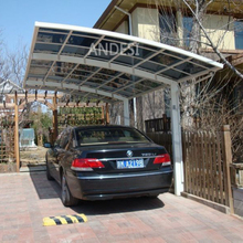 aluminum open style mobile garage for cars shed roof