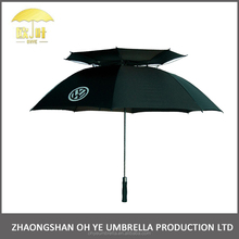 Chinese supplier wind resistant compact extra large mens umbrella