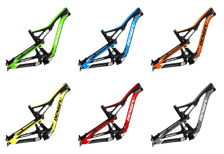 150mm frame travel all mountain bike carbon frameset full suspension carbon fiber mtb frame 27.5