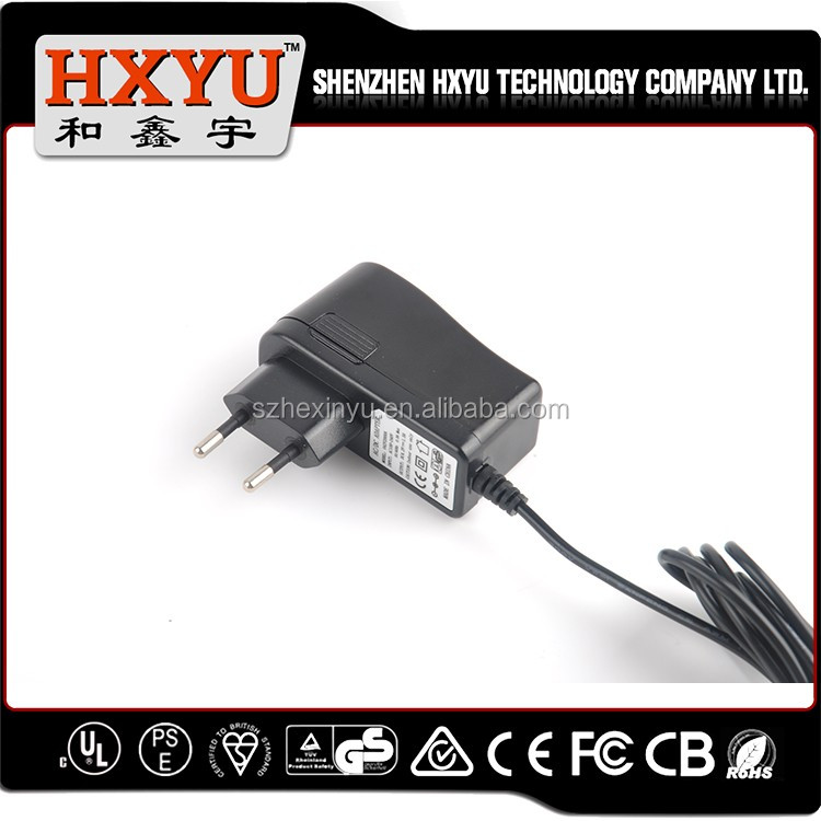 China manufacturer tablet pc 9v charger for all consumer electrnics