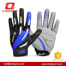Hot New Products For 2016 GEL full Finger Men Cycling Gloves Slip mtb bike/bicycle racing sport breathable shockproof
