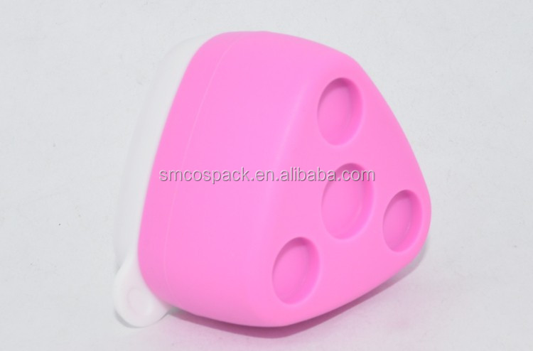 Mini portable multifunction travel lotion jar silicone jar