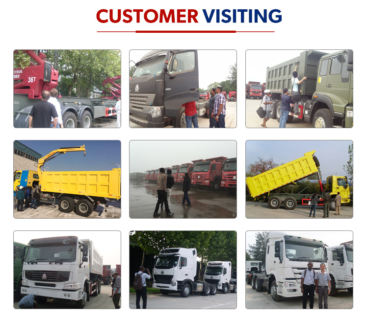 Chinese HOWO 8CBM 371hp Concrete Mixer Truck for Sale