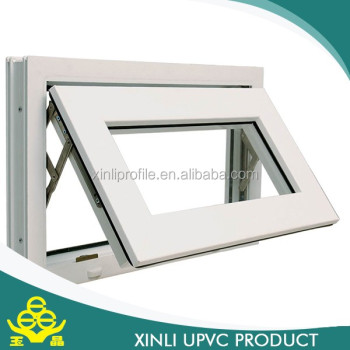 pvc profile window plastic pvc profile with high quality
