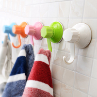 korean style hanging suction cup with magic strong hook plastic wall hook vacuum suction cups