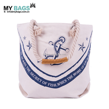 Personalized Natural recycle durable wholesale standard size reusable organic cotton canvas Tote Bag with leather handles