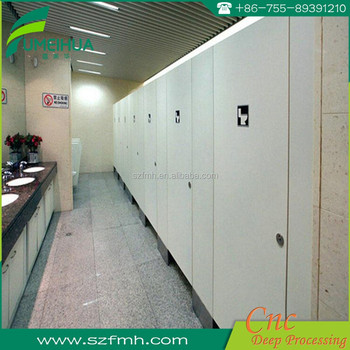 Wholesale factory price compact public toilet cubicle partition