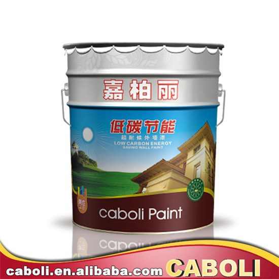 Caboli alkali-resistant emulsion paint for outdoor wall with strong quality in low price