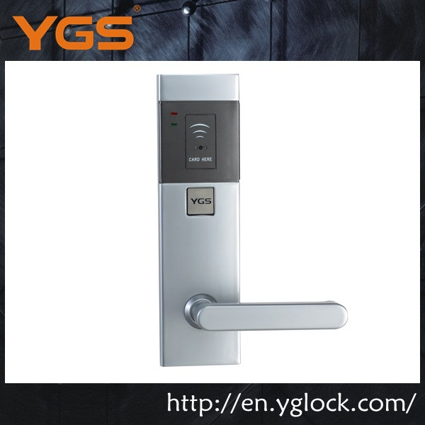 new product YGS9910 wireless electronic entry lock for hotel door