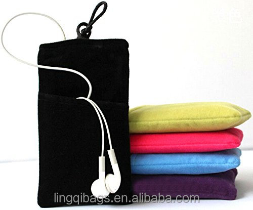 Fashion Style Microfiber Sleeve Pouch Cover Case Pouch Cell Phone Pouch