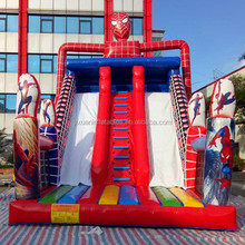 Cheap 2017 Spider Yard Inflatable Water Slide For Kids And Adult
