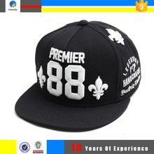 young mens embroidery letter snapback hats