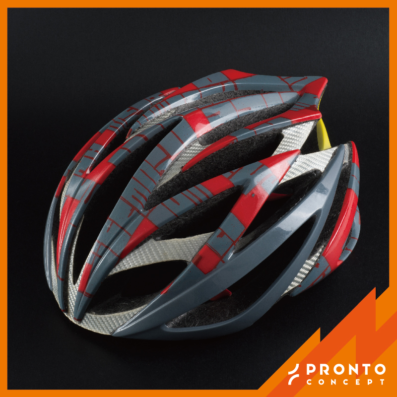 2017 Carbon Fiber, Glass Fiber, Kevlar BIKE Helmet Parts