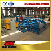 ISO certificated chain link fence machine manufacturer
