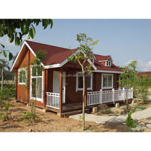 Prefab outdoor garden wood house villa cabins India
