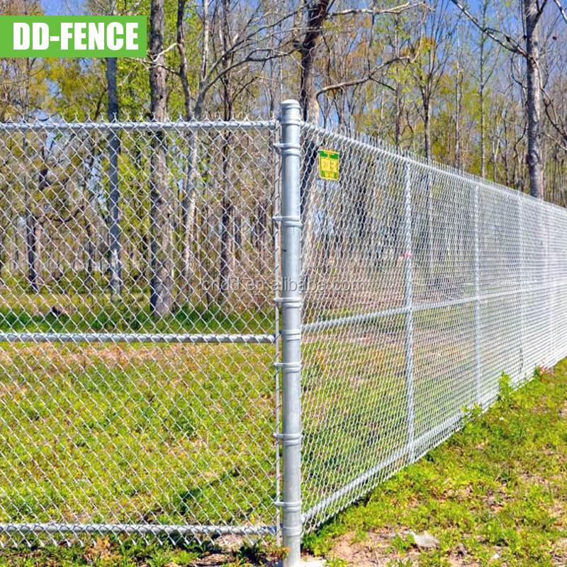 anping pvc coated 5x5 black wire chain link fencing