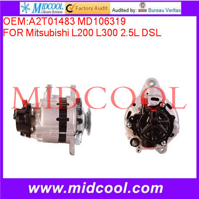 High Quality <strong>Car</strong> Alternator OEM:A2T01483 MD106319