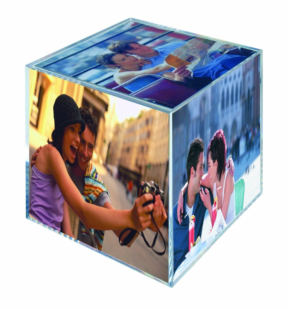 2016 New Cube Photo Frame Acrylic / Custom Funia Picture Frames