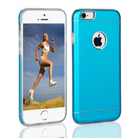 Hybrid sublimation handy aluminium case back cover for iphone 5