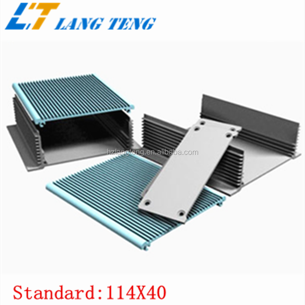 OEM Aluminum Extrusion Enclosure For Electronics Element