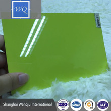 White Color Glossy UV HPL Sheet UV HPL Panel High Pressure Laminate