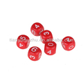 hot sale customized plastic dice mold