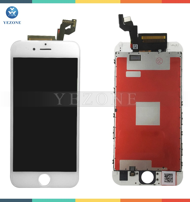 China Mobile Phone TFT Digitizer Assembly for iPhone 6S LCD Display 4.7 inch White